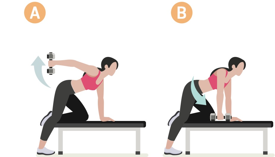 Strength training woman upper body workout #5