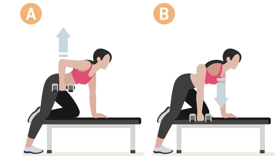 Strength training woman upper body workout #4