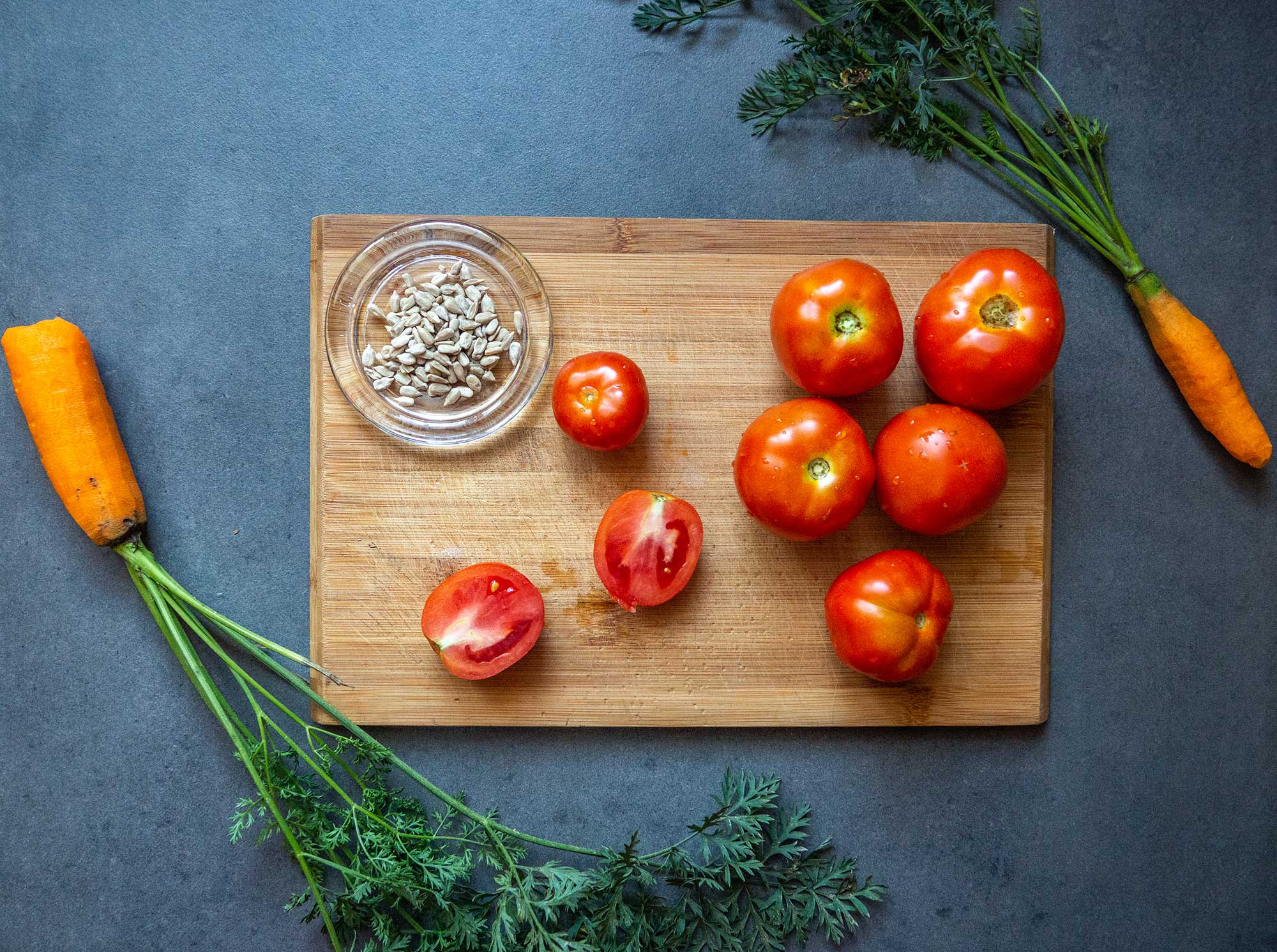 tomatoes and carrots used in diet plan