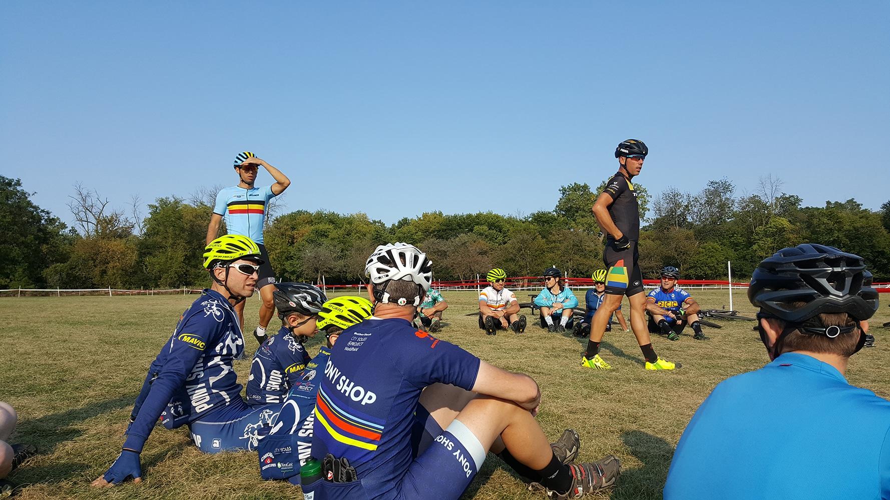 Sven Nys Cyclocross Clinic