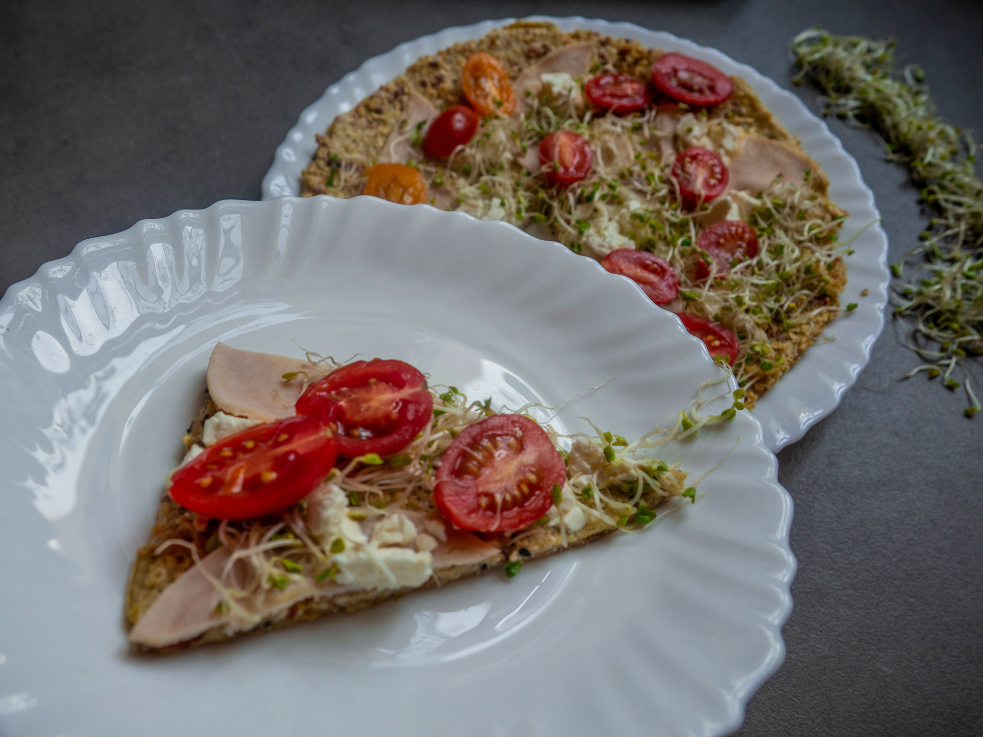 Oat Pizza piece