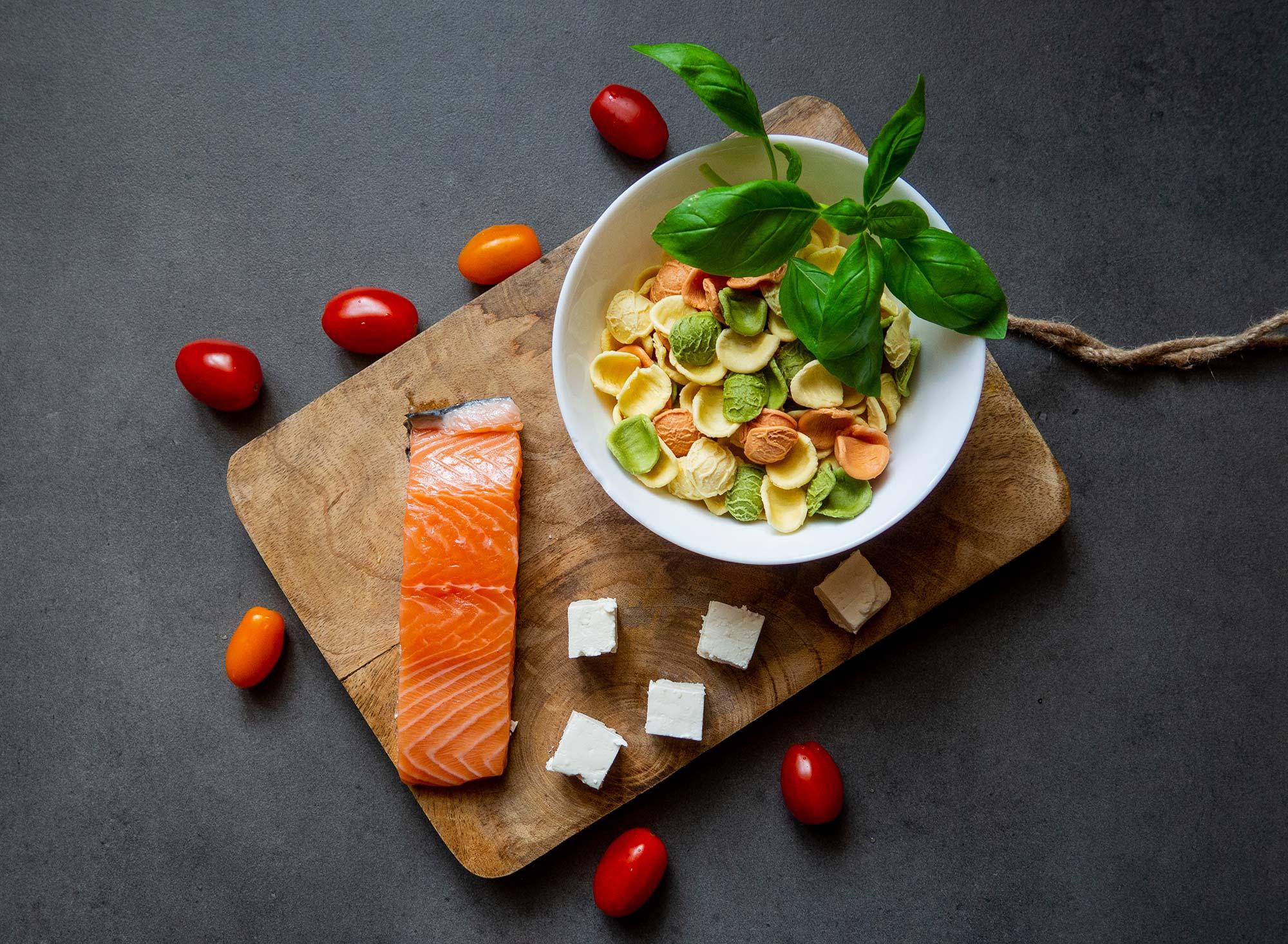 Pesto with basil pesto ingredients
