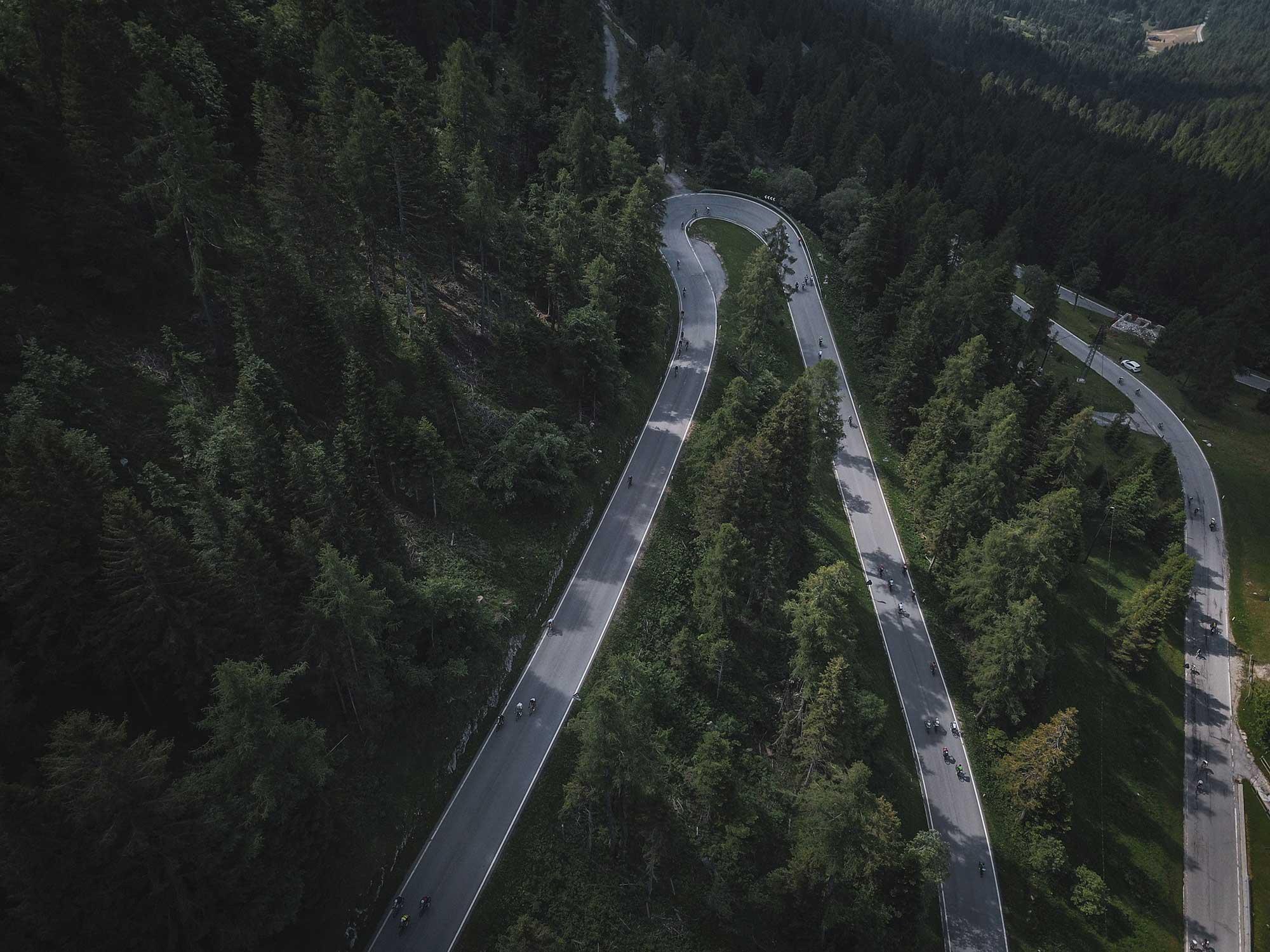 Race in Dolomits