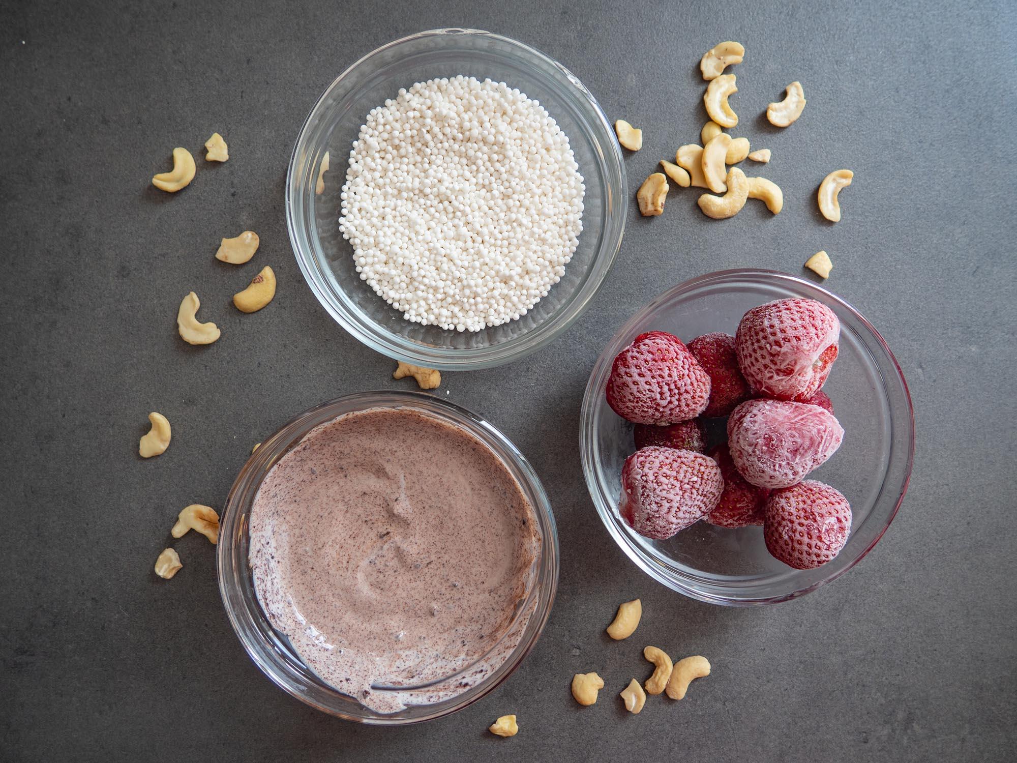 Tapioca Pudding ingredients